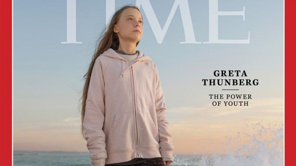 Greta Thunberg persoon van het jaar